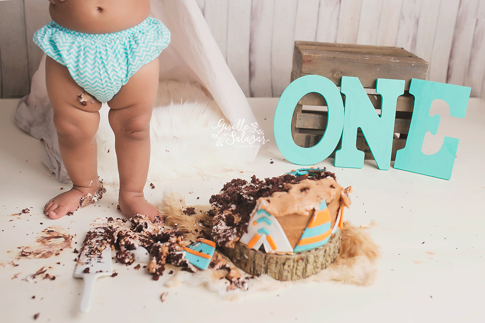 Central NJ cake smash photographer